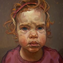 Nyne, 2 years old, 50x50cm, 2010