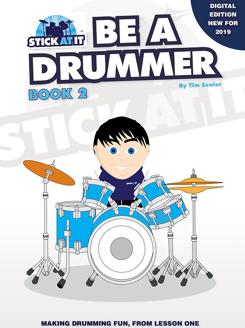 Be a Drummer Book.2 - Digital Version