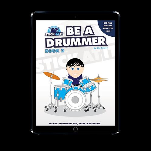 Be a Drummer Book 2