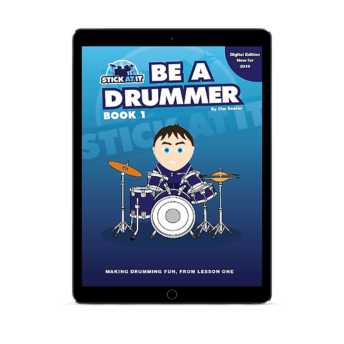 Be a Drummer Book 1