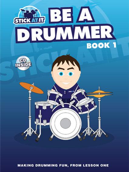 Be a Drummer Book 1 + FREE T-shirt