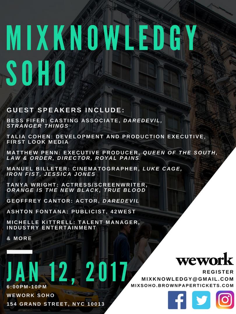 Mixknowledgy Soho