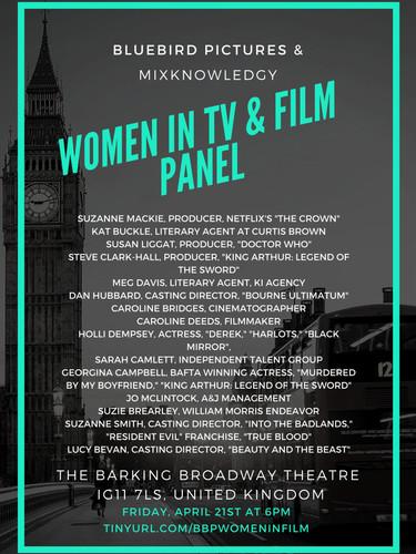 Women in TV & Film Panel