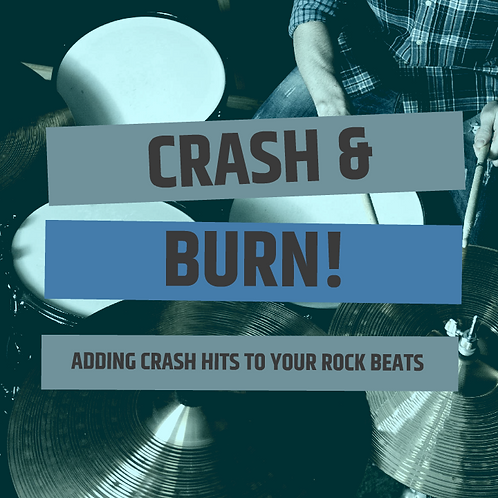 Adding Crash Cymbal Hits To Your Rock Beats