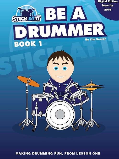 Be a Drummer Book.1 - Digital Version