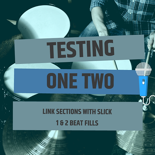 One & Two Beat Fills