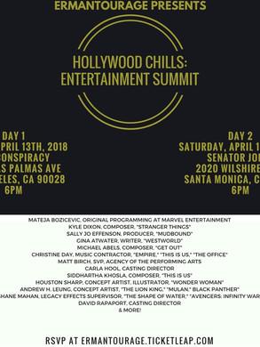 Hollywood Chills: Entertainment Summit