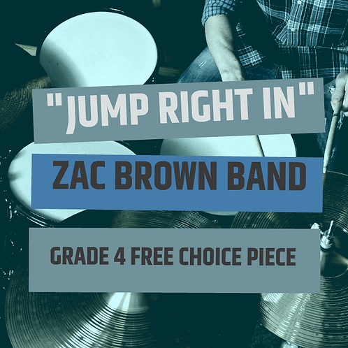 Jump Right In - Zac Brown Band