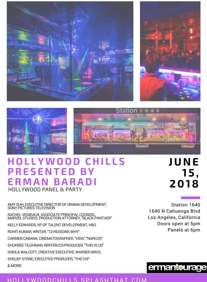 Hollywood Chills presented by Erman Baradi