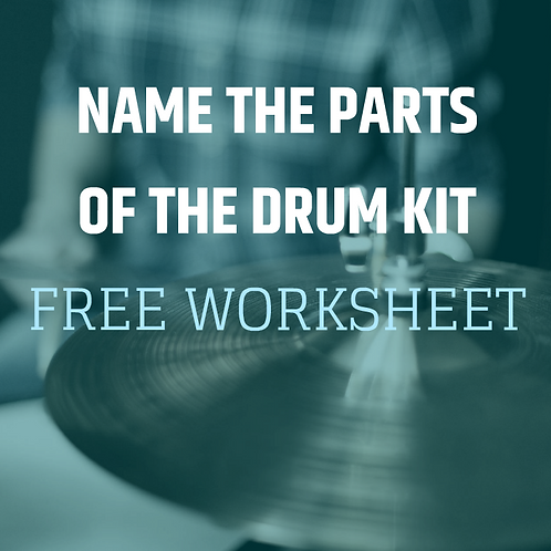 Name The Parts Of The Drum Kit