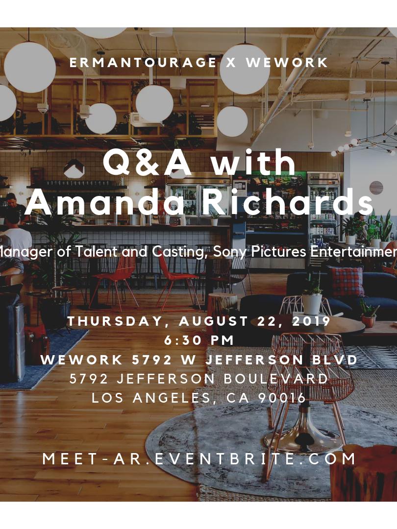Q&A with Amanda Richards