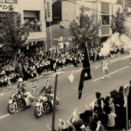 1964年の聖火リレ-