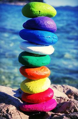 Kamenčki Ravnovesja Stones of balance