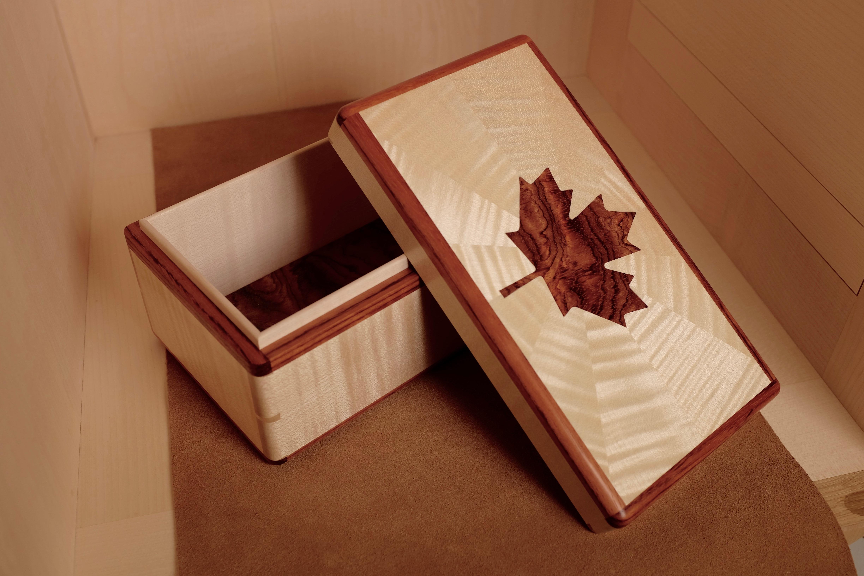 Bubinga and Sycamore box