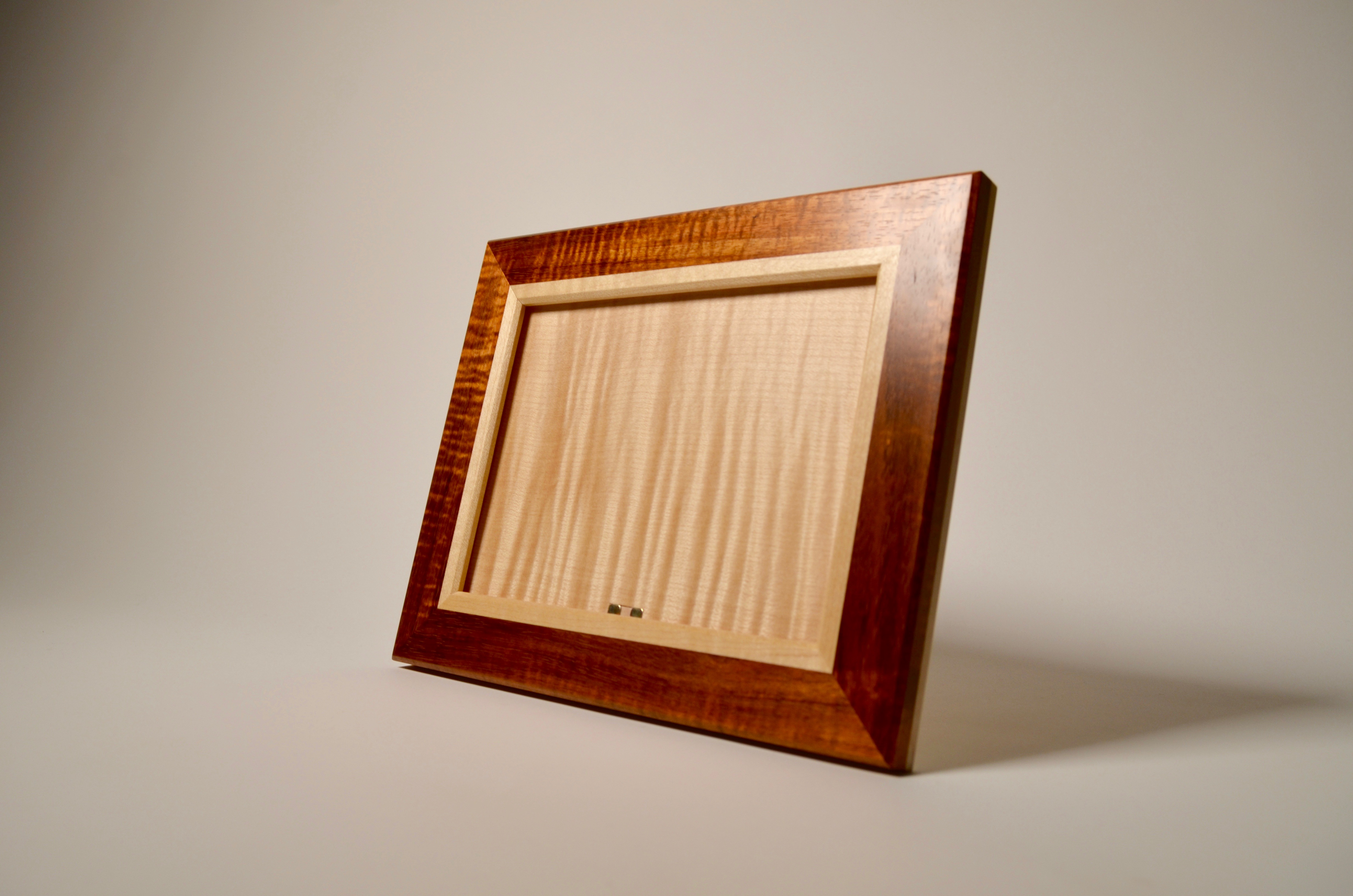 Koa and Sycamore picture frame