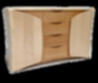 Celebration of Craftsmanship (CCD) Alan Peters Award Winner 2016 Chris Wiseman Oak Within Sideboard