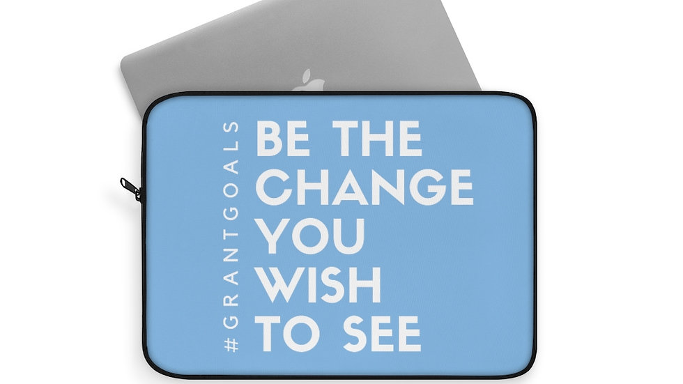 Be the Change Laptop Sleeve