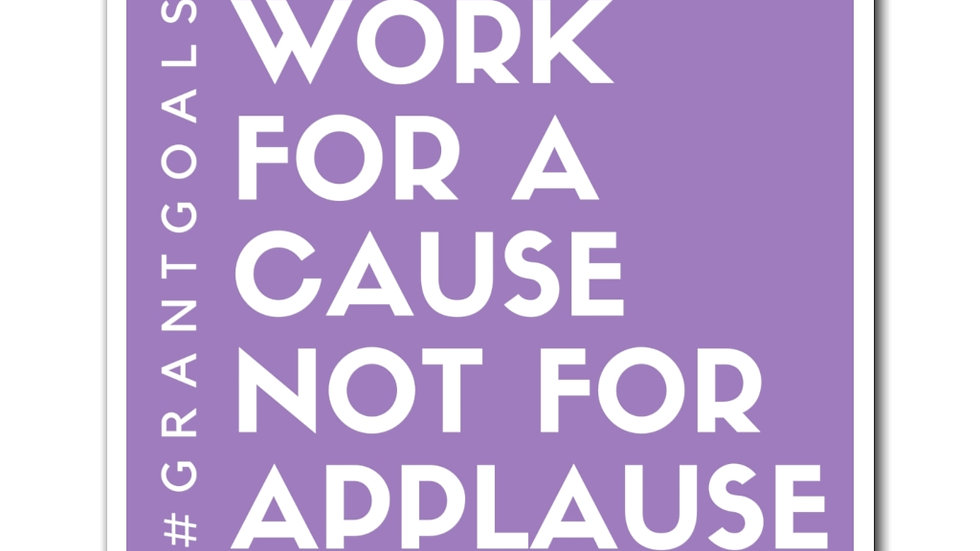 Work for a Cause Magnet