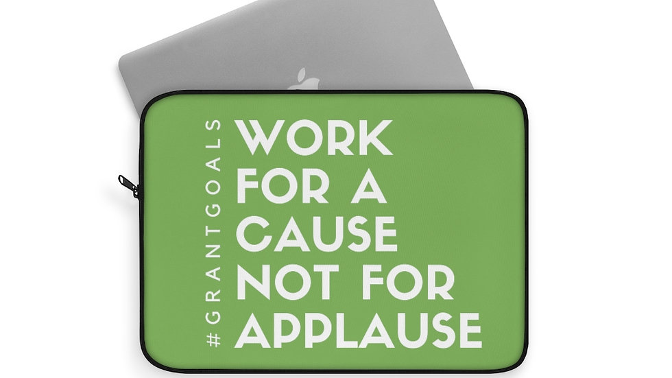Cause not Applause Laptop Sleeve