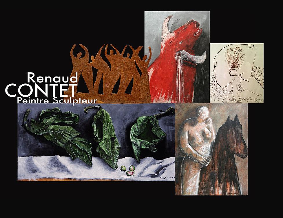 Renaud contet, Peintre, Scuplteur