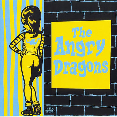 The Angry Dragons - Hot Pink 7""