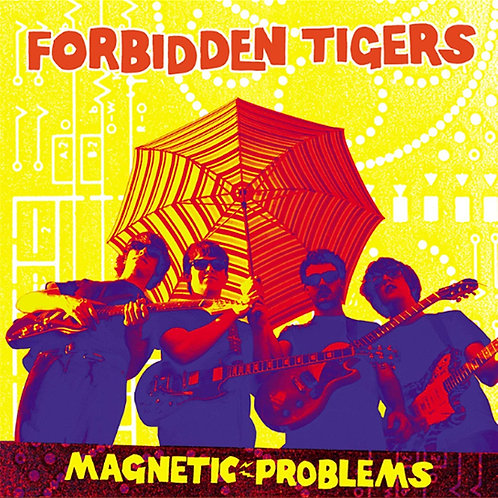 Forbidden Tigers - Magnetic Problems  CD