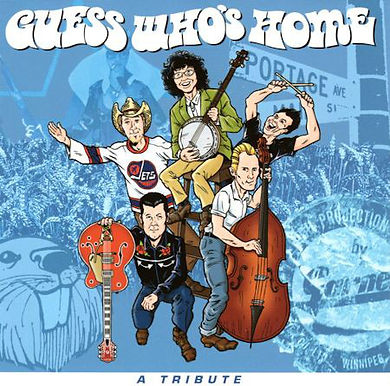 Guess Who's Home - A Tribute  CD