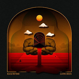 Black Thunder - La Fine Creata  CD