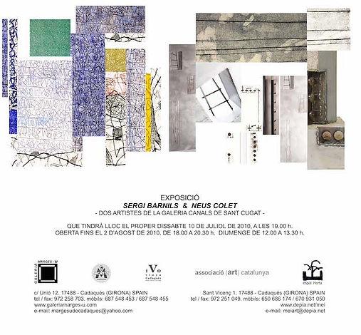 2010 -7 Exposición Sergi Barnils &  Neus