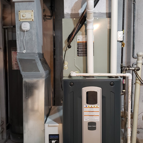 American Standard S9X2B080.  2 Stage, 96% efficient, upflow, gas furnace with 5 speed advanced bloser.