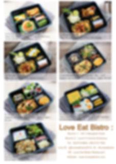 Love Eat Bistro_LUNCH BOX 2019 THB200 B.
