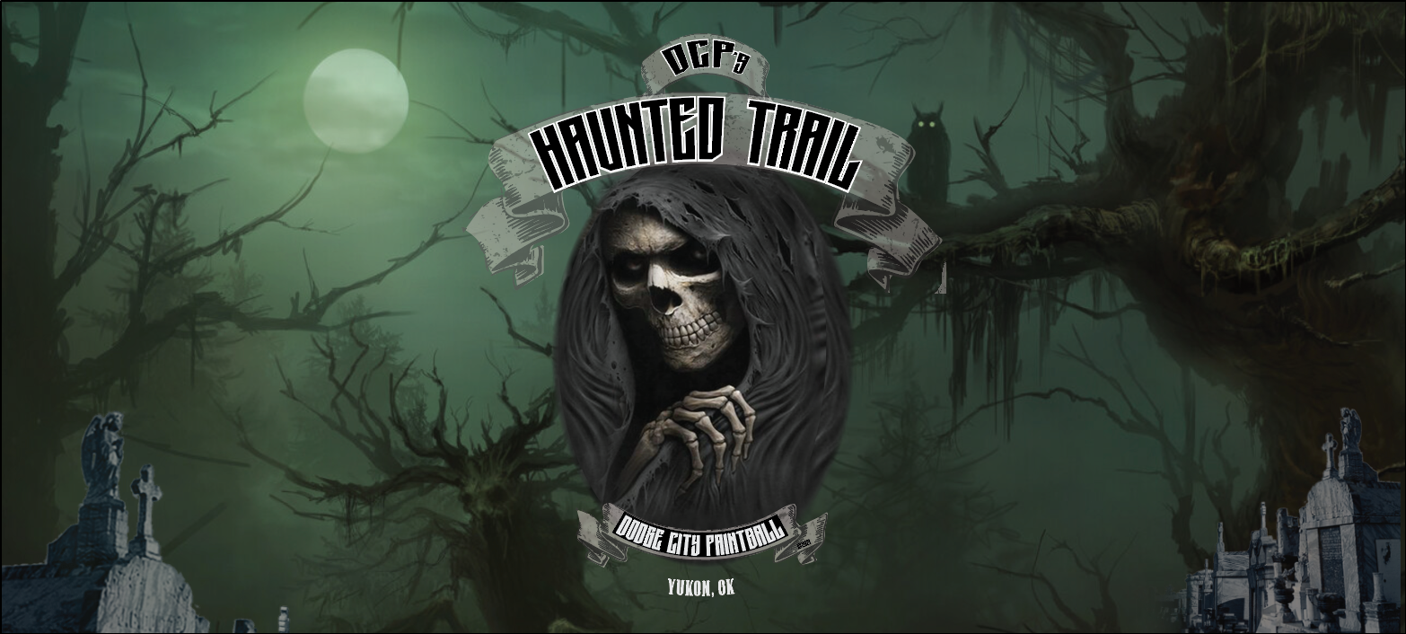 Haunted Trail 9' x 4' Banner Horror Con 2021.png