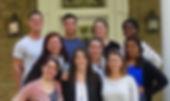 2015-2016: (Beginning top left) Tom Drago, Dan van Florcke, Dr. Ross,            Terresa Adams, Suzanne Hamilton,Giuliana Latella, Shanna Sivakumar,            Briana Sprague, Janice Banom, and Sara Freed
