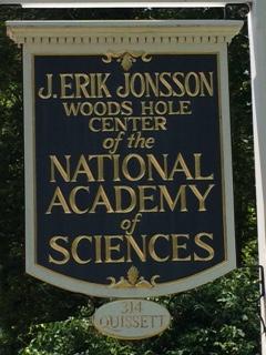 National Academies Jonsson Center sign