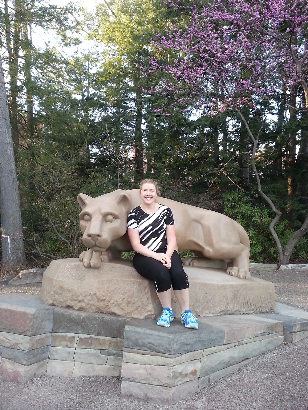 Erica visiting Penn State this Spring