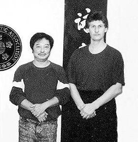 Wong Shun Leung and Clive Potter, Jason Burton Ving Tsun