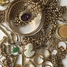 Gold jewellery , keenly bought ,