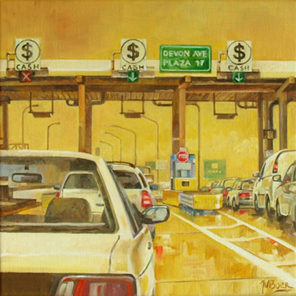 Toll-Booth oil 12_x12_ for Arthur