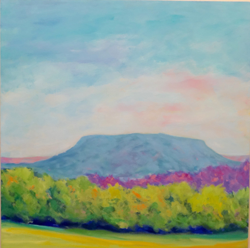Dorothy Blackwell House mountain- oils
