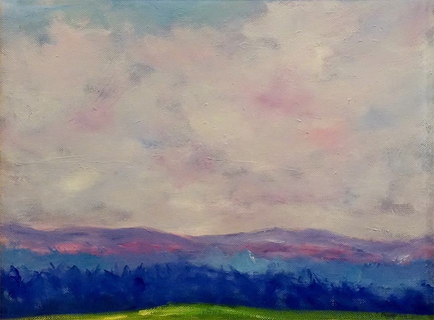 Dorothy Blackwell Blue Ridge mountains-oils