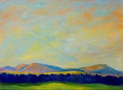 Dorothy Blackwell Virginia landscape oils