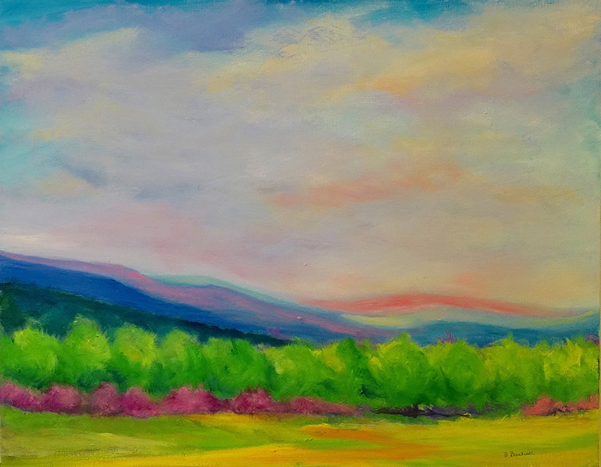 Dorothy Blackwell Virginia landscape #2