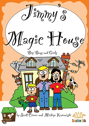 JImmy's Magic House CD for Book 1