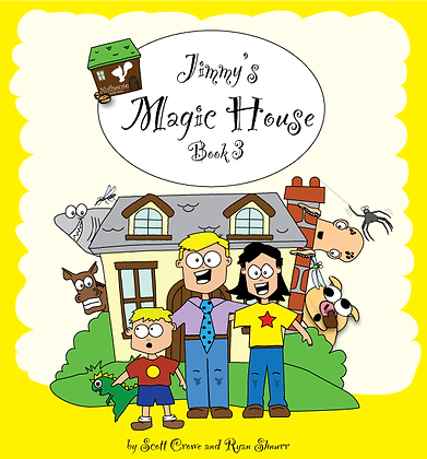 JImmy's Magic House CD for Book 3