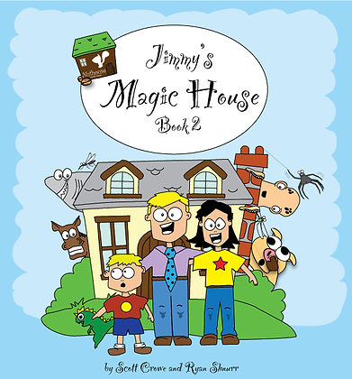 JImmy's Magic House CD for Book 2