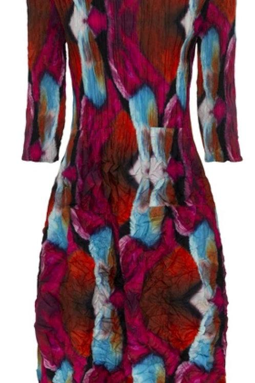 Alquema 3/4 slv Smash Pocket Dress