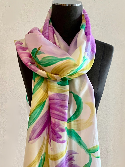 Directions Funny Girl Silk  Scarf