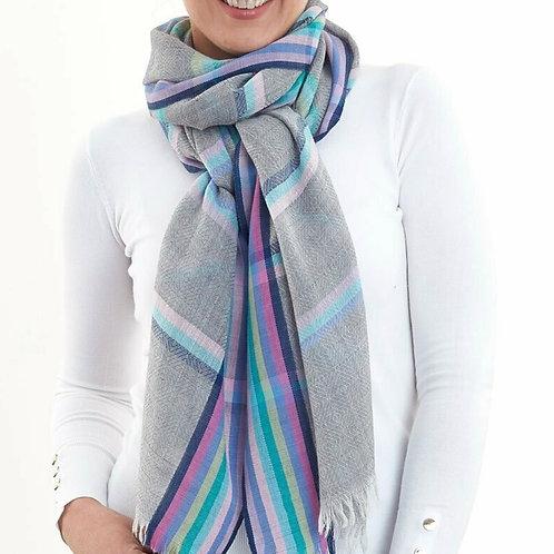 D Lux Drew Wool/Silk Scarf