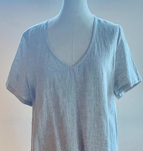 Von Troska Sophie Crush Linen Dress