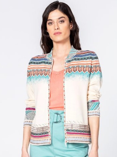 IVKO Dakota Cardi Zip Closure